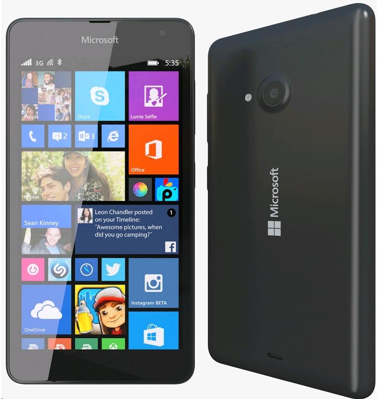 Microsoft Lumia 535 (Negro) » SoloTodo